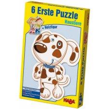 Prvé puzzle Domáce zvieratá 6x