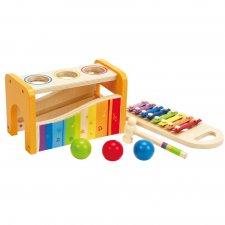 Zatĺkačka so xylofónom