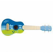 Modré ukulele