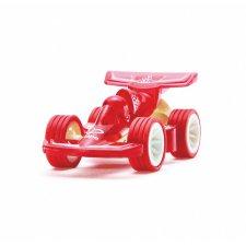 Autíčko Turbo červené z bambusu