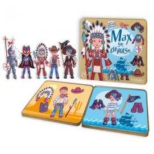 Magnetky pre deti Indián Max