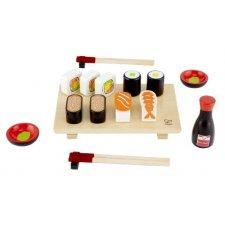 Drevené sushi