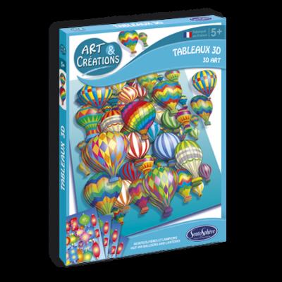 3D umenie Lietajúce balóny