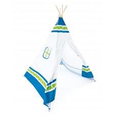 Indiánsky stan modrý