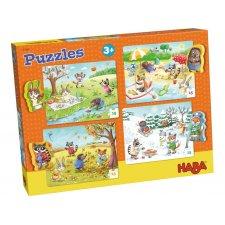 Puzzle 4x15ks Ročné obdobia