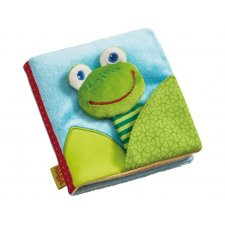Textilná knižka Žabka