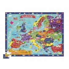 Puzzle Európa veľké 100ks
