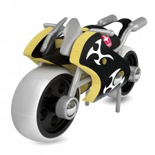 Motorka e-Superbike z bambusu