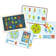 Cestovná magnetická hra Čísla