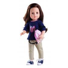Bábika Emily v nohaviciach 42cm