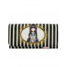 Gorjuss Stripes peňaženka veľká Rosebud