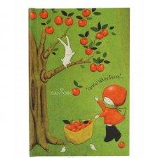 Santoro zápisník Poppi Loves Apple Pick