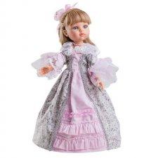 Karla v dobovom ružovom oblečení 32cm