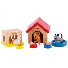Zvieratká k domčekom pre bábiky