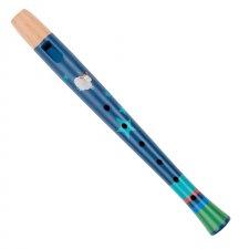 Flauta modrá