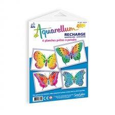 Aquarellum obrázky Motýle