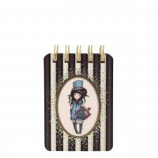 Gorjuss Stripes diár mini The Hatter