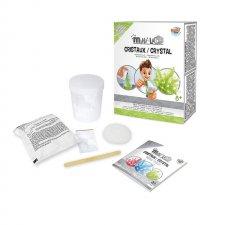 Vedecký set Kryštály zelené mini