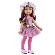 Bábika Carol balerína ružová 32cm