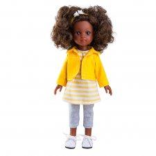 Bábika Nora v žltom 32cm