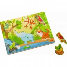 Vkladacie puzzle hudobné Džungľa