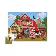 Puzzle Na farme 24ks