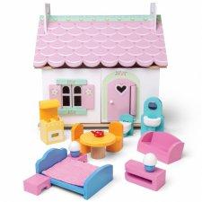 Domček pre bábiky s nábytkom Lily