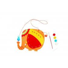 Navliekačka-peňaženka Slon