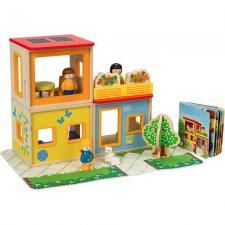 Mestský domček set