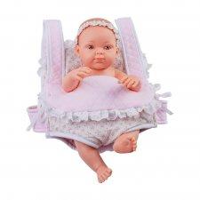 Bábätko v nosiči Mochila Rosa 32cm