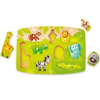 Vkladacie puzzle Džungľa