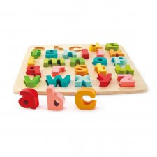 Vkladacie puzzle Abeceda malé písmená