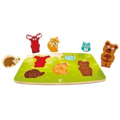 Hmatové puzzle Zvieratká z lesa