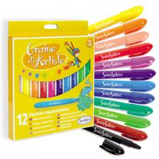 Akvarelové farbičky 12ks