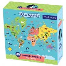 Puzzle jumbo Náš svet 25ks