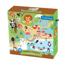 Puzzle jumbo Zoo 25ks