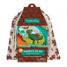 Puzzle Dinosaury 36ks vo vaku