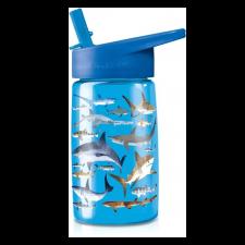 Zdravá fľaša Žralok so slamkou