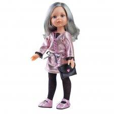 Bábika Carol s kabelkou 32cm