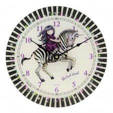 Gorjuss nástenné hodiny The Dark Streak