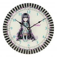 Gorjuss nástenné hodiny Rosebud