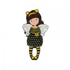 Gorjuss brošňa Bee Loved (Just Bee-Cause)