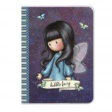 Gorjuss zápisník A6 Bubble Fairy