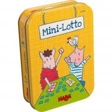 Hra v plechovke Mini lotto