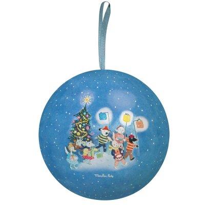 Vianočná ozdoba modrá