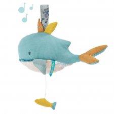 Veľryba Joséphine hudobná 25cm