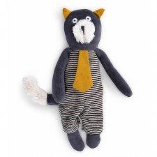Mačka sivá Alphonse 23cm