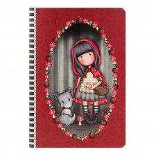 Gorjuss zápisník Little Red Riding Hood