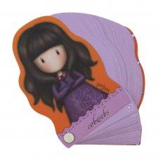 Gorjuss Fiesta zápisník v tvare postavy Cobwebs