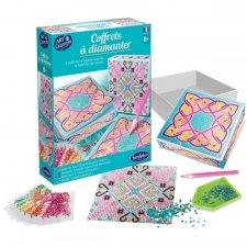 Vyrob si diamantovú krabičku Severské vzory
